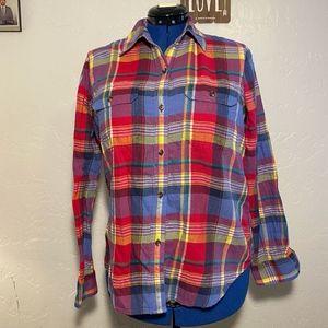 Chap's women's button-down shirt, size large.